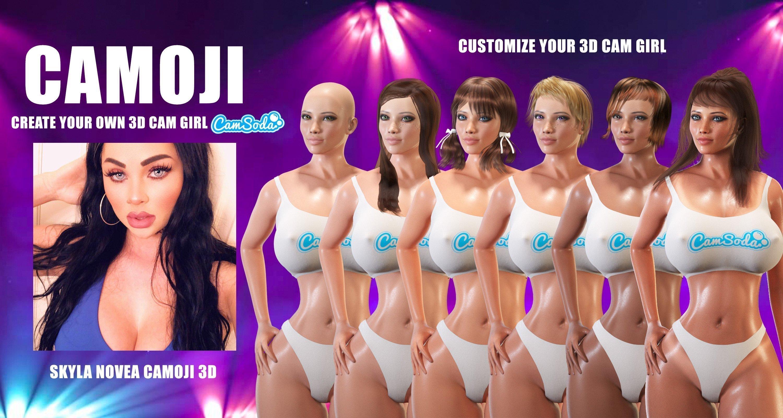 Camoji: Camsoda va vous permettre de créer votre avatar cam girl